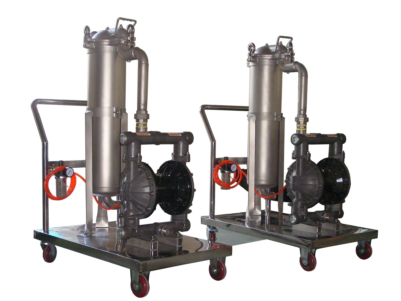 Fluoropolymer Coating Filter Vessel